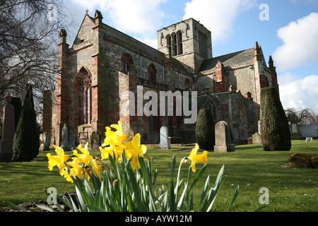 St Mary's Church Haddington East Lothian - Stock Photo