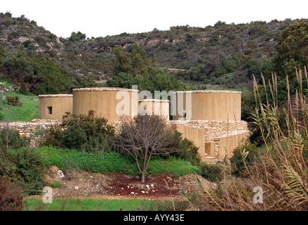 Choirokoitia Neolithic Settlement in Cyprus - Stock Photo