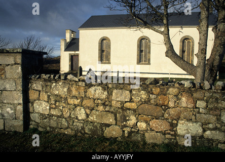 St Crone's Church of Ireland Church, Dunglow, Co Donegal - Stock Photo