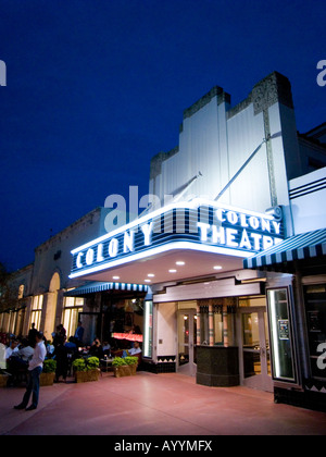 colony theatre lincoln road south beach miami florida