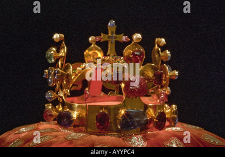 The Czech Crown Jewels - Stock Photo