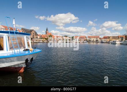 Port panorama - Stock Photo
