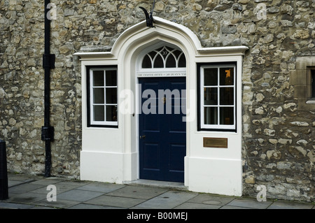 Chapter Office of Westminster Abbey Dean's Yard Westminster London Uk - Stock Photo