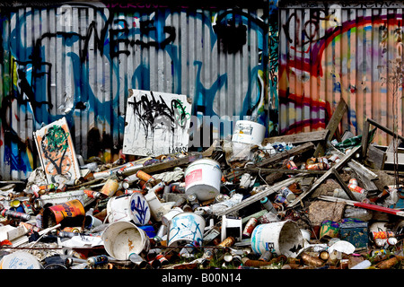 Mixed scrap - Stock Photo