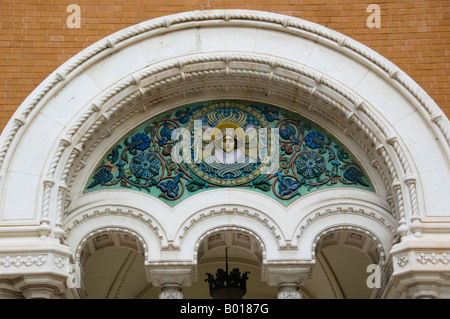 St Nicholas Russian Orthodox Cathedral in Nice, South France - Stock Photo