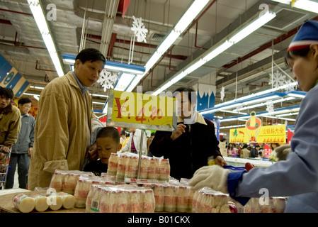 China supermarket - Stock Photo