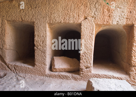 Tombs of the Kings, The Archaeological Park of Kato Pafos, Paphos, Cyprus - Stock Photo