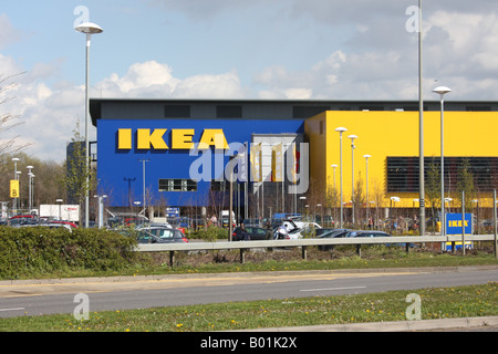 Ikea Store Warehouse Stock Photo 41931952 Alamy