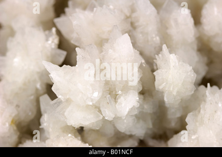 Mineral specimen, Barite, bottom level, Hilton Mine, Cumbria, England - Stock Photo