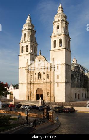 Campeche, Cathedral of Nuestra Senora de la Concepcion - Stock Photo