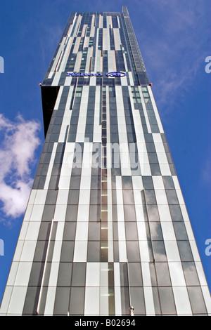 Beetham Tower AKA Hilton Manchester - Stock Photo