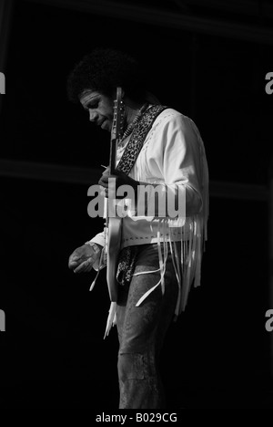 Are You Experienced Jimi Hendrix Tribute Band England United Kingdom Birmingham - Stock Photo