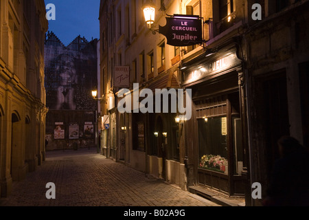 Le cercueil bar club and central brussels street scene and stock photo royalty free image - Bar le central ...