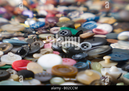 Clothes buttons - Stock Photo