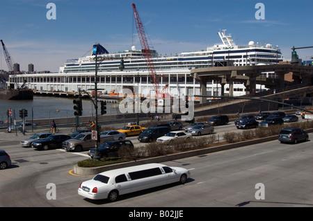 Cruise Ship Norwegian Gem Docked At The Manhattan Cruise Terminal - Cruise ships from nyc