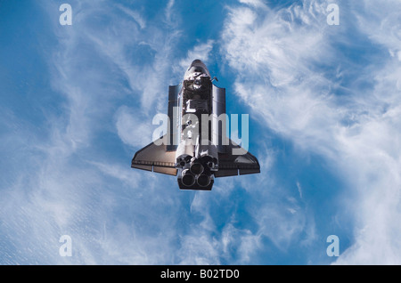 Space Shuttle Endeavour - Stock Photo