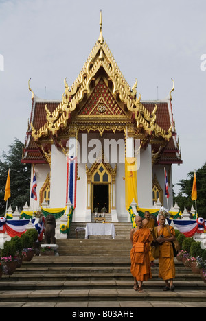 Annual celebration of the founding of the Buddhist BUDDHAPADIPA Temple in Wimbledon London SW19 England - Stock Photo