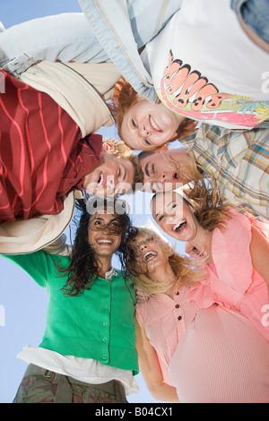 Portrait of friends - Stock Photo