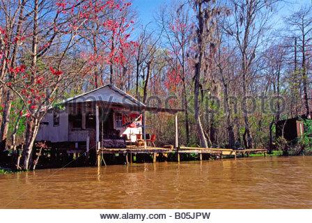 Louisiana st tammany parish slidell cultural center art for Louisiana fishing camps