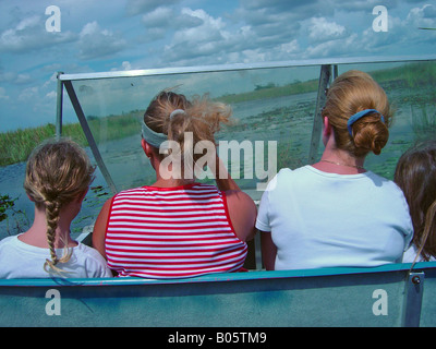 Airboat Riders - Stock Photo