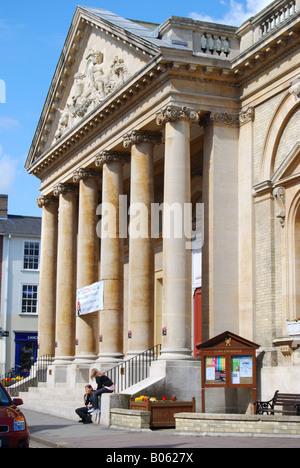 Corn Exchange Building, Abbeygate Street, Bury St Edmunds, Suffolk, England, United Kingdom - Stock Photo