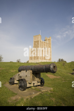 Orford Castle suffolk - Stock Photo