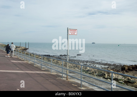 Southsea seafront - Stock Photo