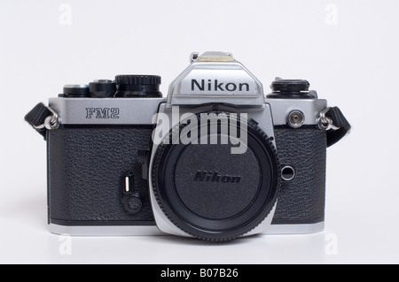 Nikon FM2 Slr 35mm Film Camera - Stock Photo