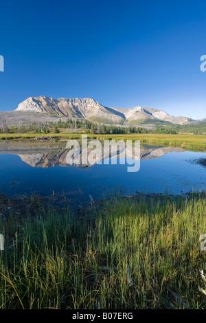 Sofa Mountain, Waterton Lakes National Park, Alberta, Canada - Stock Photo