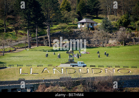 Happy Valley Gardens and the Great Orme, Llandudno, Conwy, Wales, UK ...
