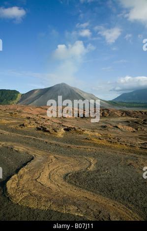 Vanuatu, Tanna Island, Mt. Yasur Volcano, Ash Plain - Stock Photo