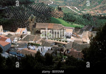Segura de la Sierra, Sierra de Segura, Jaen, Andalusia, Spain - Stock Photo