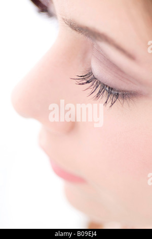 Close up of woman - Stock Photo