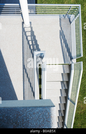 Staircase, high angle view - Stock Photo