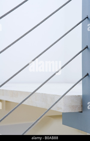 Staircase, extreme close-up - Stock Photo