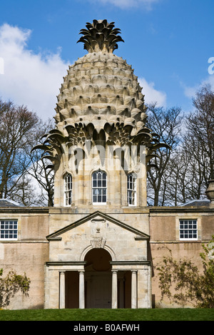 The Dunmore Pineapple at Dunmore Park built in 1761 Airth Falkirk Scotland - Stock Photo