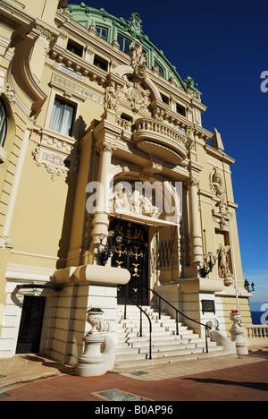 Monaco Costa Azzurra Cote d Azur Casino di Montecarlo - Stock Photo