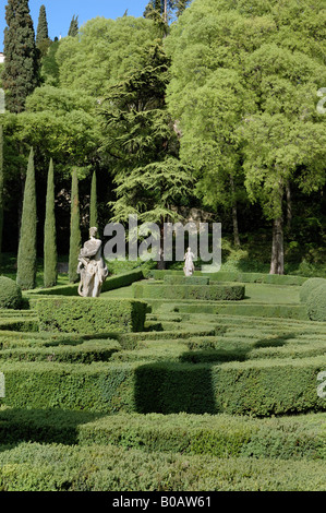 Giardino Giusti Verona Veneto Italy Europe Stock Photo