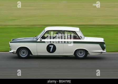 Classic Ford Lotus Cortina - Stock Photo