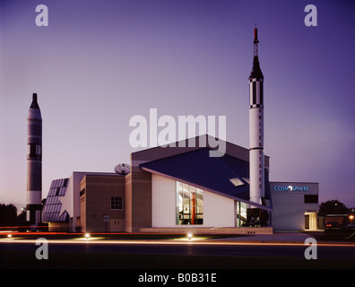 Usa kansas hutchinson kansas cosmosphere and space center the stock photo 66953414 alamy for American exteriors kc