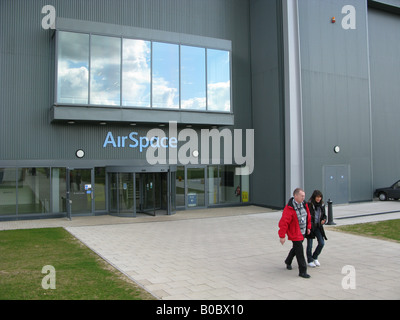 Duxford Imperial War Museum Airspace - Stock Photo