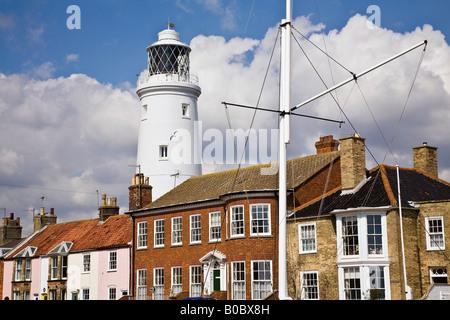 Southwold Lighthouse (built 1889), Southwold, Suffolk, England, UK - Stock Photo