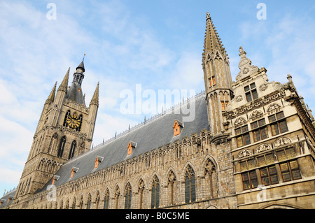 In Flanders Field Museum, Cloth Hall, Ypres, Belgium - Stock Photo