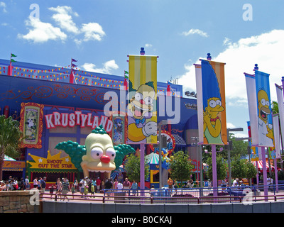 Krustyland banners - Stock Photo