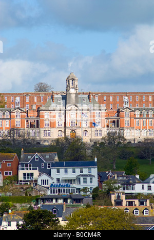 The Britannia Royal Naval College, Dartmouth, Devon, England - Stock Photo
