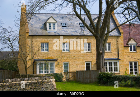 Newly built large detached house in Cotswolds Gloucestershire England UK EU