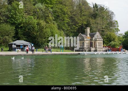 Swanbourne Lodge, Arundel, West Sussex, England - Stock Photo