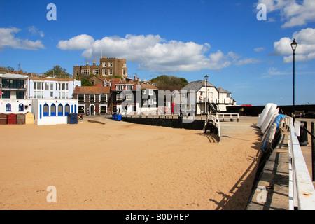 Viking Bay beach, Broadstairs, Kent, England, UK. - Stock Photo