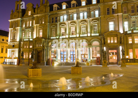 Old Post Office City Square Leeds Yorkshire UK - Stock Photo