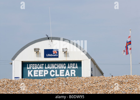 Lifeboat House Eastbourne - Stock Photo